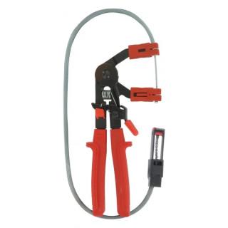 Клещи за маркуч с гъвкав кабел за отдалечен достъп