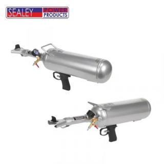 Пневматичен инструмент за нагласяне на автомобилни гуми върху джанти Sealey / 6 л 10 bar