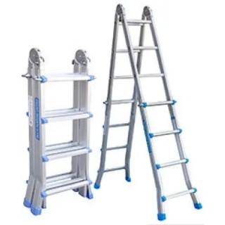 Телескопични стълби за стълбище 4х4 - AT404