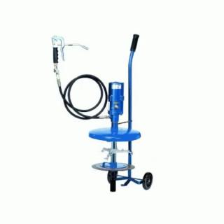 Система за гресиране,пневматична, мобилна, за 20кг контейнери ф270-310 mm