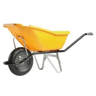 Строителна количка DJTR 110  жълта