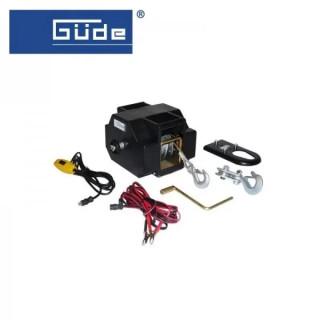 Електрическа лебедка GÜDE 55128 / 1800 кг / 12V