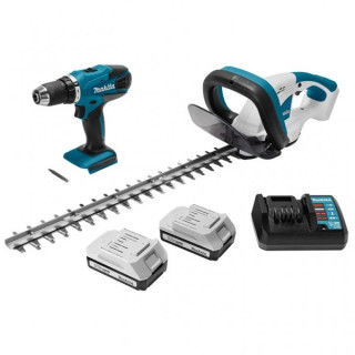 Комплект акумулаторни инструменти Makita DK18171
