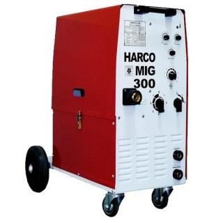Телоподаващ заваръчен апарат HARCO MIG 300 / 3x380V