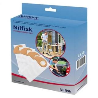 Торбички за прахосмукачка Nilfisk, за серия Nilfisk Buddy II, 4 броя