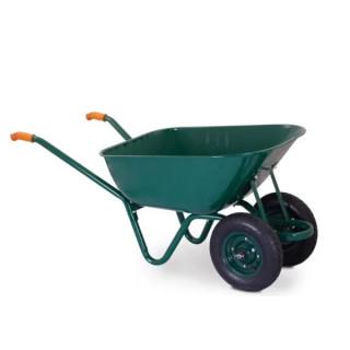 Количка 120л с две колела усилени GREEN PREMIUM