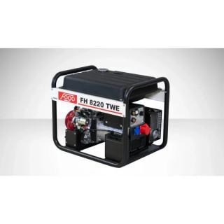 Бензинов трифазен генератор за заваряване FOGO FH8220TWE с уголемен резервоар и ел. старт / 5.2kW