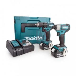 Makita DLX2220JX2, Комплект акумулаторни инструменти
