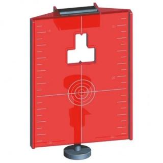 Магнитна мишена-плочка червена Laserliner