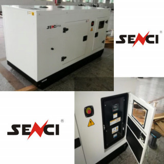 Шумоизолиран дизелов трифазен генератор SENCI SCDE 19YS, 15 kW