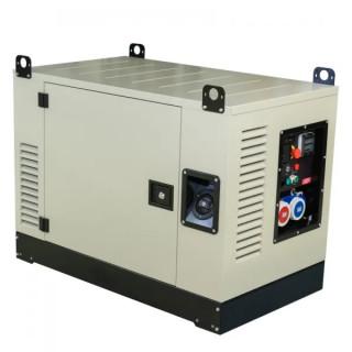 Бензинов трифазен генератор FOGO FV20000CRA 17.5kW със звукоизолиран корпус, AVR, ел. старт и ATS