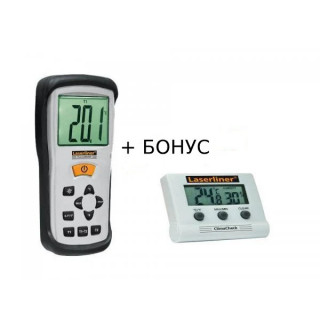 Термометър ThermoMaster + БОНУС ClimaCheck Laserliner