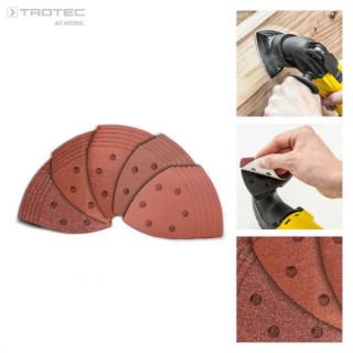 Комплект шкурки за мултифункционален инструмент TROTEC PMTS-Set 3, 30 броя