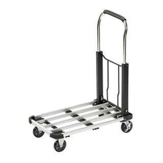 Алуминиева платформена количка за пренос на товари до 150 кг