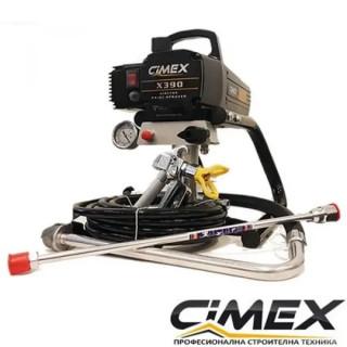 Машина безвъздушно боядисване CIMEX AIRLESS X390 - 227 bar