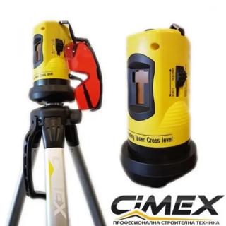 Лазерен нивелир - самонивелиращ се линеен лазер CIMEX RL10M