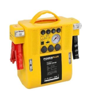Автомобилна енергийна станция с компресор POWER PLUS POWX410