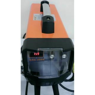 Електрожен инверторен ARC-200S дигитален дисплей монофазно и трифазно напрежение, TIG TAG