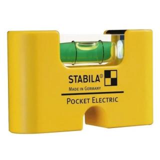 Джобен електорнен нивелир STABILA Pocket Electric 7 cm