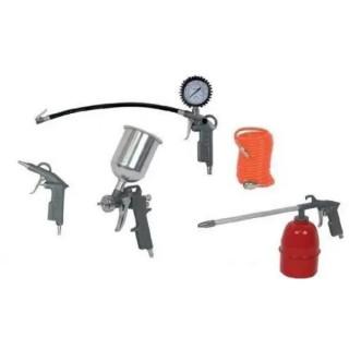 Боядисващи пистолети за въздух Raider RD-AT02, 5 бр. комплект