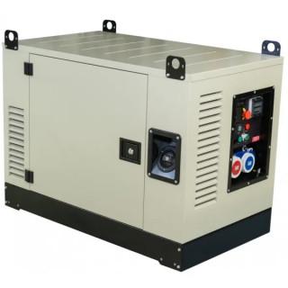 Бензинов монофазен генератор FOGO FV10001CRA 9.5kW със звукоизолиран корпус, AVR, ел. старт и ATS