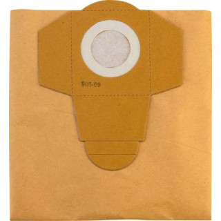 Торби за прахосмукачка хартиена за контейнер 20 L Einhell /5 броя/