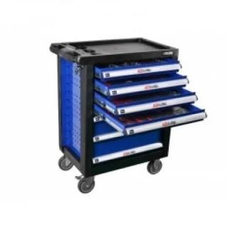 Оборудвана количка за инструменти BGS Technic 7 отделения, 319 части