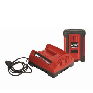Комплект батерия и зарядно устройство MTD /40 V, Li-ion 2 Ah