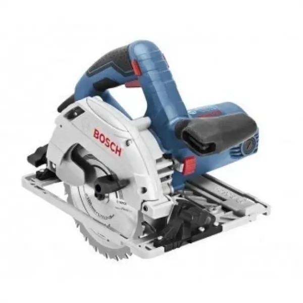 Ръчен циркуляр Bosch GKS 55+G / L-Boxx