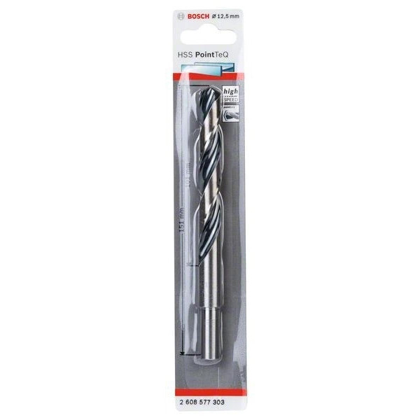 Спирално свредло за метал Bosch HSS PoinTec 12.5 mm