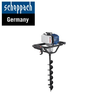 Моторен свредел за дупки в земята, EB1700 / Scheppach 5904702904 / 1,77 PS, свредел 100/150/200 мм