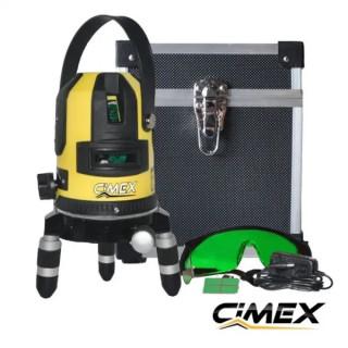 Лазерен нивелир със зелен лъч CIMEX SL1H4VG
