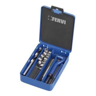 Инструмент Fervi за възстановяване на резби комплект М5х0.8, E010/M05