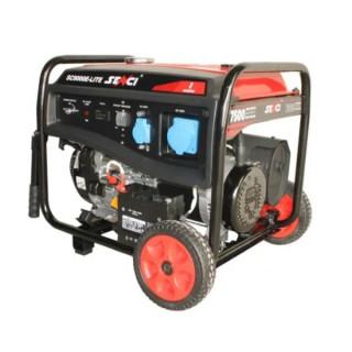 Бензинов монофазен генератор SENCI SC-9000E LITE, 7.5 kW, 25 л