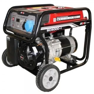 Бензинов генератор монофазен SENCI Senci SC-6000 5.5 kW / AVR