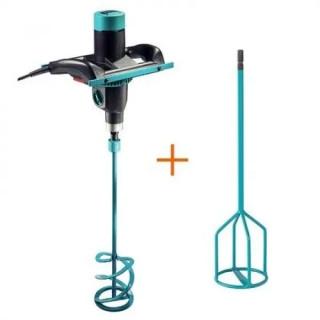 Бъркалка електрическа Collomix C-mix M1000 + бъркалка приставка Collomix KR 120 HF