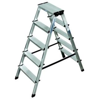 Алуминиева двустранна стълба KRAUSE DOPLO 2x6