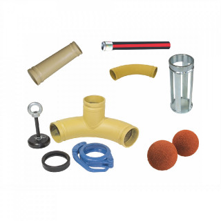 Комплект за бетон помпа Imer Booster 15 - Spritz Beton