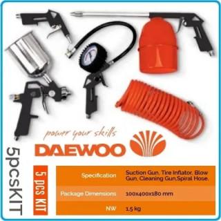 Комплект за компресор 5 броя  DAEWOO 5pcs KIT