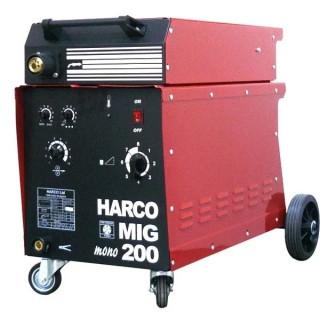 Телоподаващ заваръчен апарат HARCO MIG 200 MONO / 220V
