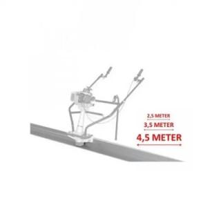 Дъска за вибромастар за бетон 250 cm LUMAG 5PL250