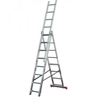 Професионална трираменна стълба Krause Corda 3x08