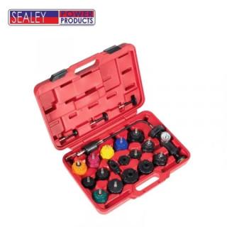 Комплект за тестване на охладителната система на двигатели Sealey