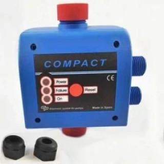 Електронен пресостат COMPACT2RM - 1,5kW старт  от 1,5 бар до 2,5 бара, стоп до 10 секунди след като спре консумацията