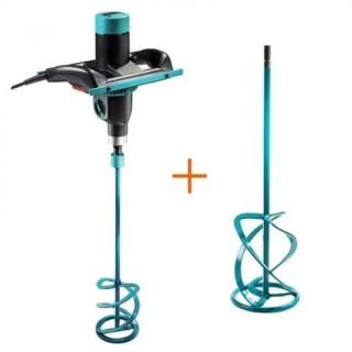 Бъркалка електрическа Collomix C-mix M1400 + бъркалка приставка Collomix MK 140 HF