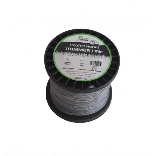 Тримерна корда GardenMAX 2.4mmx10LB 860m (макара - кръгъл)