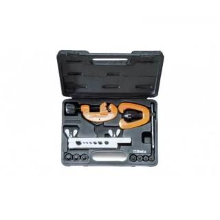 Комплект тръборез 334 и конусна дъска 350 с накрайници 351P в пластмасова кутия, Beta Tools