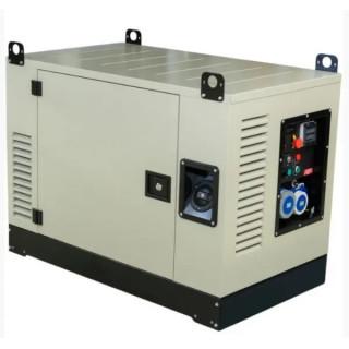 Бензинов монофазен генератор FOGO FV17001CRA 14.9kW със звукоизолиран корпус, AVR, ел. старт и ATS