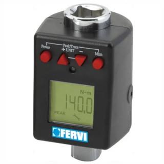 Ключ Fervi динамометричен квадрат дигитален 40-200 Nm, 1/2