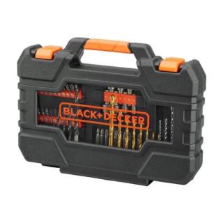 Black & Decker 76 части свредла, битове и накрайници